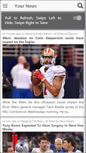 Football NFL News Rumor Scores - American Football - náhled