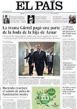 Photo: La trama Gürtel pagó una parte de la boda de la hija de Aznar, un diputado del PP admite que Bárcenas le dio 70.000 euros en efectivo y Mourinho anuncia que se va del Real Madrid, en nuestra portada del martes 21 de mayo http://ep00.epimg.net/descargables/2013/05/20/70ef50d693486899301edd314edfe413.pdf
