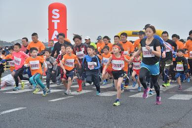 少子化のなかで人口増加する「つくばみらい市」でマラソン大会が開催