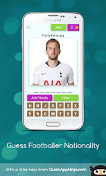 Guess Footballer Nationality APK screenshot thumbnail 4