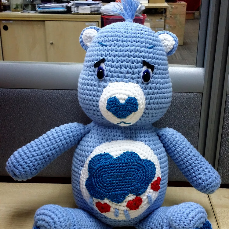 Grumpy @ Care Bear by Bling365Days
