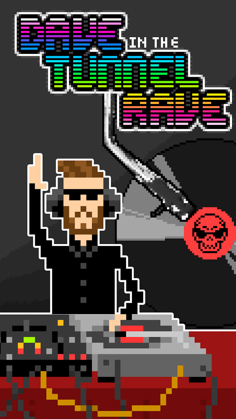 Скриншот Dave in the Tunnel Rave
