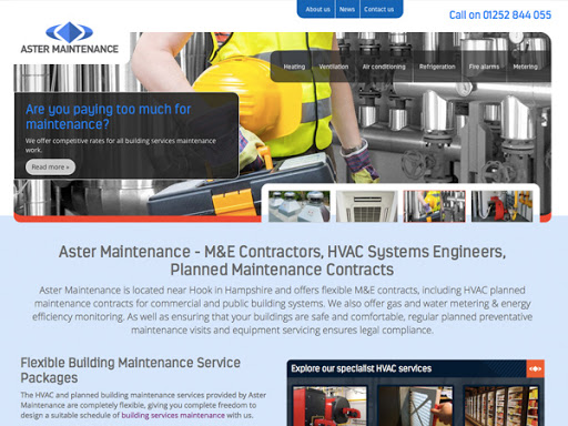 Aster Maintenance
