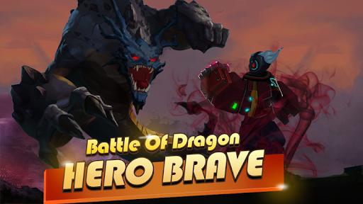Hero Brave: Battle of Dragon apktram screenshots 1