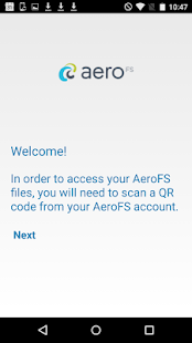 AeroFS- screenshot thumbnail