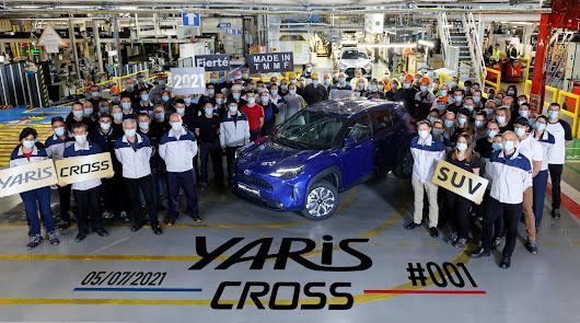 Arranca la producción del nuevo Toyota Yaris Cross