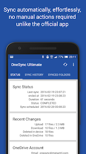 Autosync for OneDrive - OneSync Screenshot