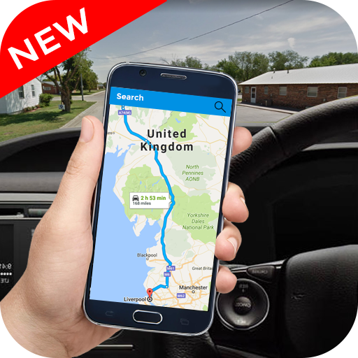GPS Street View Navigation Maps: Route Guide file APK for Gaming PC/PS3/PS4 Smart TV