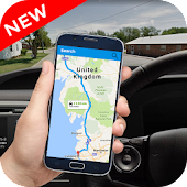 GPS Driving Route Guide: Navigation Maps 3D