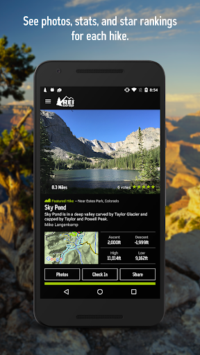 REI National Park Guide & Maps Screenshot