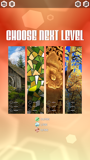 Spin HEX Puzzle - Relaxing Game Beautiful Pictures - screenshot