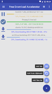 Download Manager Beschleuniger Screenshot