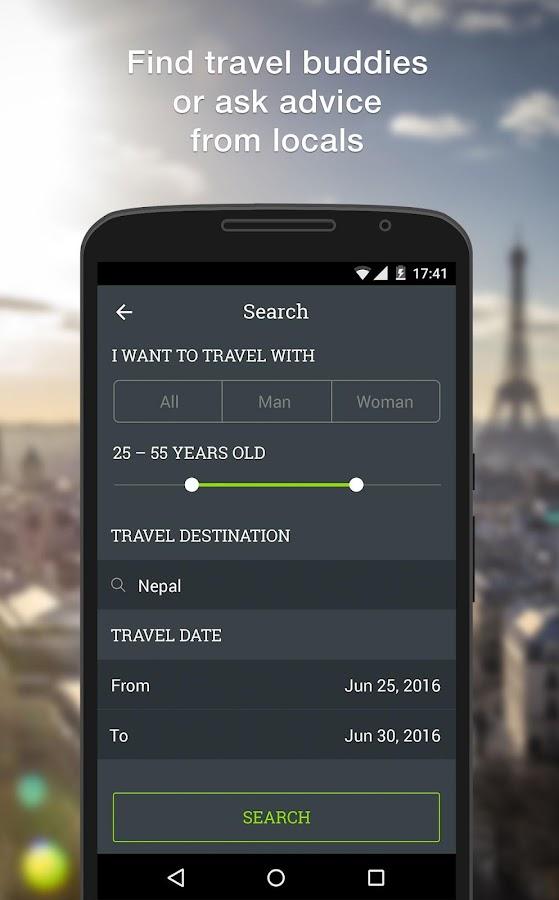 TripTogether: find TravelMate - screenshot
