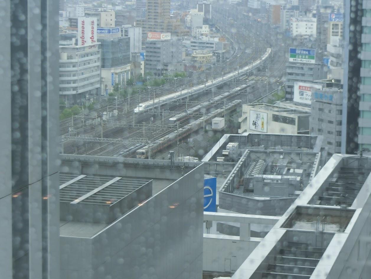 名古屋JRゲートタワーホテルから