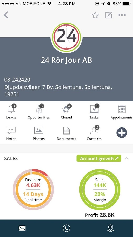 Salesbox - the #1 sales tool- screenshot