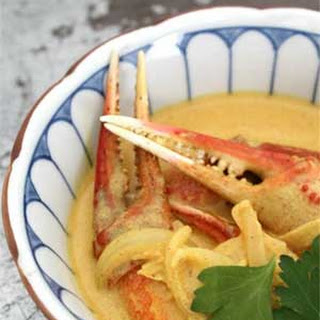 Crab Claws in Curry Sauce