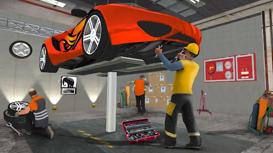 Monster Car Mechanic Workshop- screenshot thumbnail