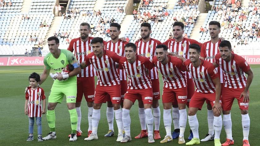 El último once de la temporada 2018-2019 en el Mediterráneo.