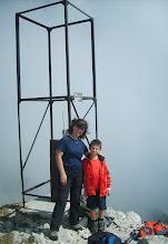 Photo: Foto sulla cima del Dos della Torta