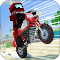 Dirt Bike Stunt Riders 3D icon