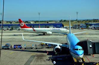 Photo: Náš přestup letiště Istanbul