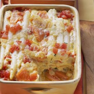 Baked White Asparagus Lasagne