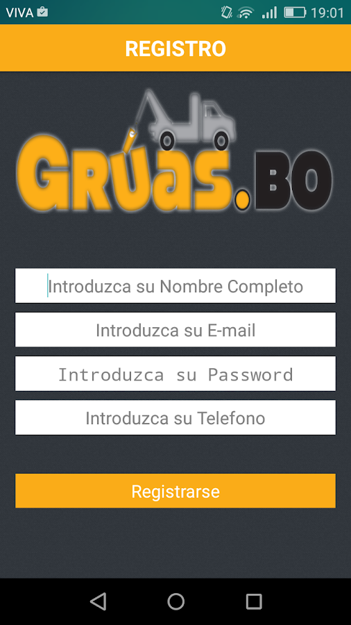 Grúas Bolivia- screenshot