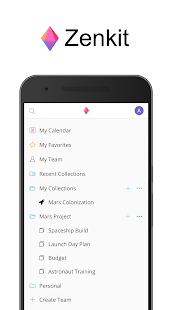 Zenkit Screenshot
