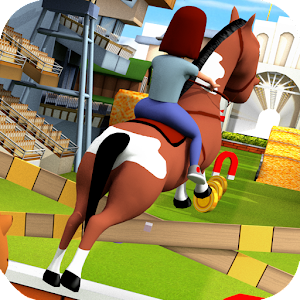 Cartoon Horse Riding Game Free for PC and MAC