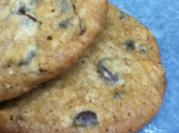 Chewy Banana Chocolate Chip Cookies Recipe