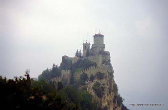 Photo: 26 juli. San Marino. La Rocca-o-Guaita.