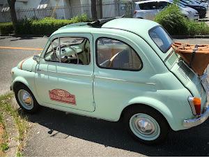 フィアット500  Fiat500D 1963'sのカスタム事例画像 Jimmyさんの2018年07月09日17:09の投稿