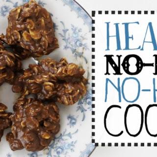 Healthy No Bake No Heat Cookies.