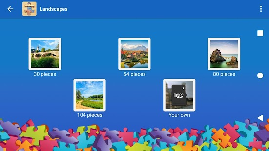 Landscapes Jigsaw Puzzles - náhled