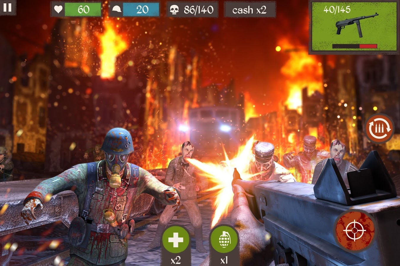 Zombie Call: Trigger 3D First Person Shooter Game- screenshot