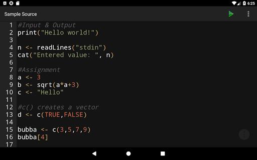 R Programming Compiler screenshot 13