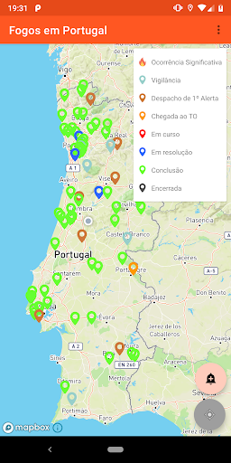 Fogos em Portugal 4.3 screenshots 4