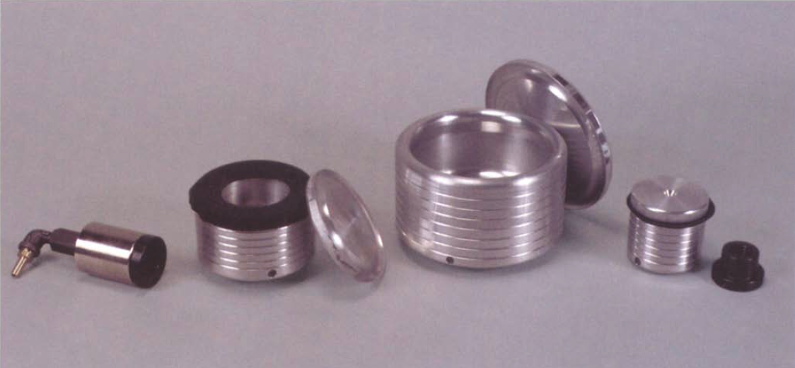 Oneway makes a nice line of vacuum chucks as well as its own rotary vacuum adapter. It also sells vacuum pumps.