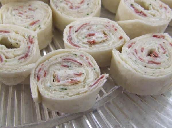 Tortilla Rollups With Beef
