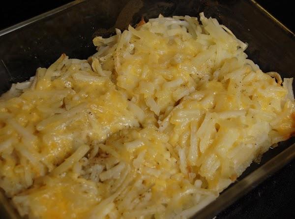 Cheesy Hash Browns Recipe