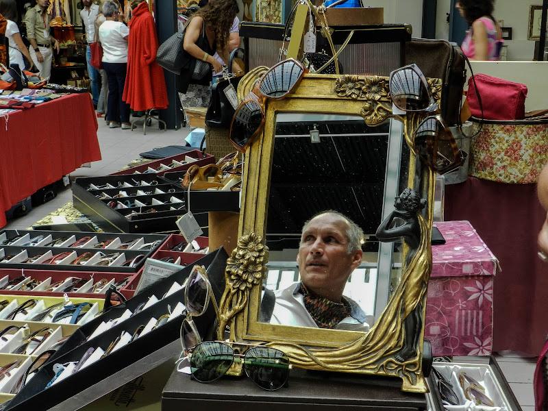 al mercatino vintage di Giomi