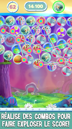 Code Triche Bob l'eponge: Bubble Party APK MOD screenshots 4