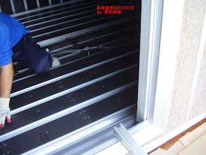 Photo: 内側のブースの床の設置
