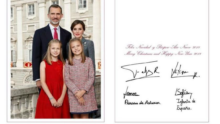 Imagen elegida por los Reyes este año para felicitar la Navidad a los españoles.