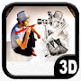 TOP 3D Pencil Drawing APK icon