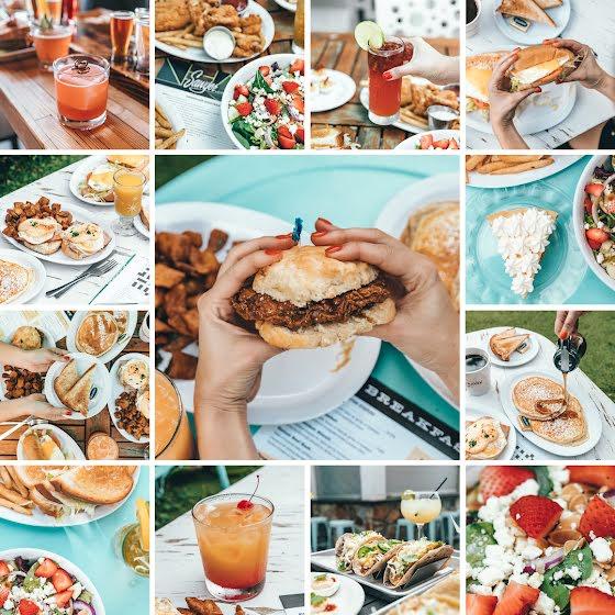 Brunch Collage - Instagram Post Template