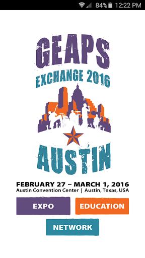 GEAPS Exchange 2016
