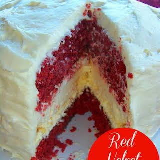 Red Velvet Cheesecake.