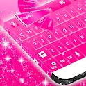 Pink Glow GO Keyboard theme icon