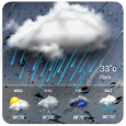 Real-time weather forecasts icon